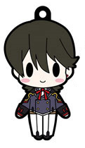main photo of D4 Touken Ranbu Online Rubber Strap Collection Vol.1: Horikawa Kunihiro