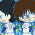 Toy'sworks Collection Niiten-gomu! Ace of Diamond: Furuya & Miyuki