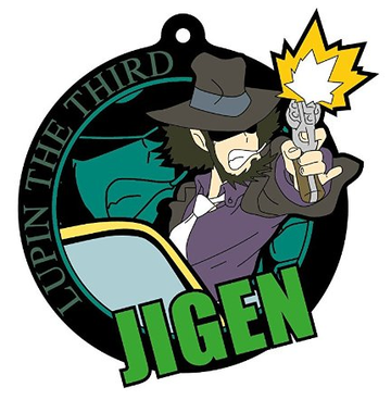 main photo of Imaging Rubber Collection New TV Series Lupin III: Jigen Daisuke Rubber Strap