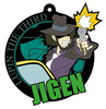 photo of Imaging Rubber Collection New TV Series Lupin III: Jigen Daisuke Rubber Strap