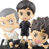 Gacha Kuji Haikyuu!! ~Karasuno Members Say Cheese Hen!~: Second Years Figure Set