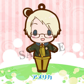 main photo of es Series Rubber Strap Collection Hetalia Part 1 Renewal ver.: America