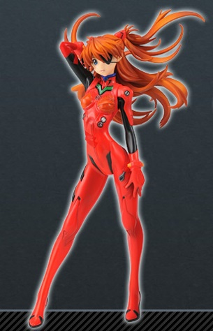 main photo of PM Figure Shikinami Asuka Langley Plugsuit 02 Eyepatch Ver.