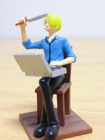 main photo of One Piece Vignette Collection: Sanji
