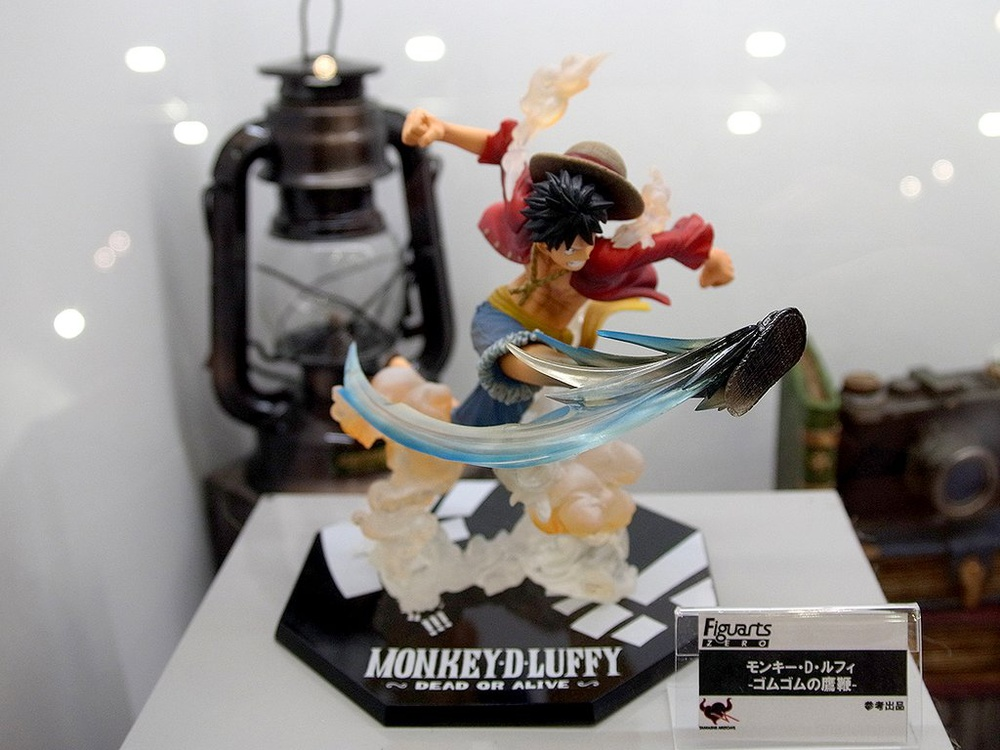 Figuarts Zero Monkey D One Piece Figure Bandai Luffy Gum Gum