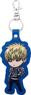 main photo of One-Punch Man Leather Keyring: Genos