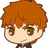 Fate/Stay Night [Unlimited Blade Works] Rubber Mascot: Emiya Shirou
