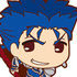 Fate/Stay Night [Unlimited Blade Works] Rubber Mascot: Lancer