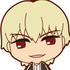 Fate/Stay Night [Unlimited Blade Works] Rubber Mascot: Gilgamesh