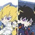 Yu-Gi-Oh! King Series Pair Rubber Strap: Jack Atlas & Yusei Fudo
