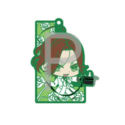 main photo of Diabolik Lovers Bloody Bouquet Rubber Strap: Sakamaki Laito