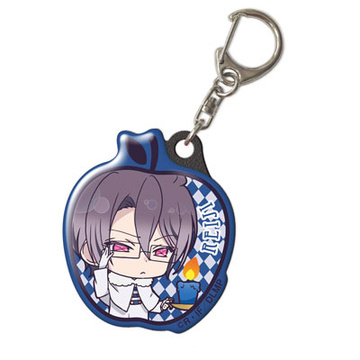main photo of Diabolik Lovers More, Blood Pukutto Keychain: Sakamaki Reiji