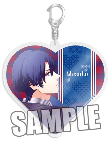 main photo of Uta no☆Prince-sama♪ Heart ver. Acrylic Keychain: Masato Hijirikawa