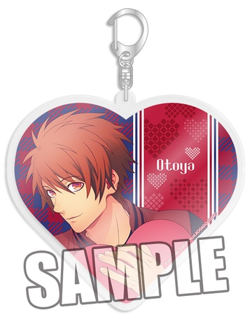 main photo of Uta no☆Prince-sama♪ Heart ver. Acrylic Keychain: Otoya Ittoki