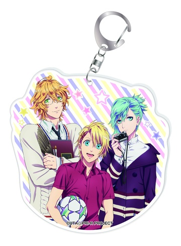 main photo of Uta no☆Prince-sama♪ Acrylic Big Keychain: Natsuki Shinomiya & Shou Kurusu & Ai Mikaze
