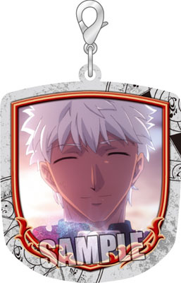 main photo of Fate/stay night [UBW] Trading Zipper Mascot: Archer