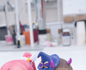 photo of Nendoroid Co-de Shiratama Mikan Silky Heart Cyalume Co-de Ver.