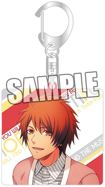 main photo of Uta no☆Prince-sama♪ Keychain Natural: Otoya Ittoki