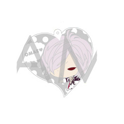 main photo of Diabolik Lovers Kiss Collection Trading Rubber Strap: Sakamaki Subaru
