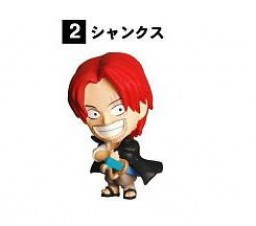 main photo of Anime Heroes ONE PIECE Vol.1 ~Grand Line Totsunyu Hen~: Shanks
