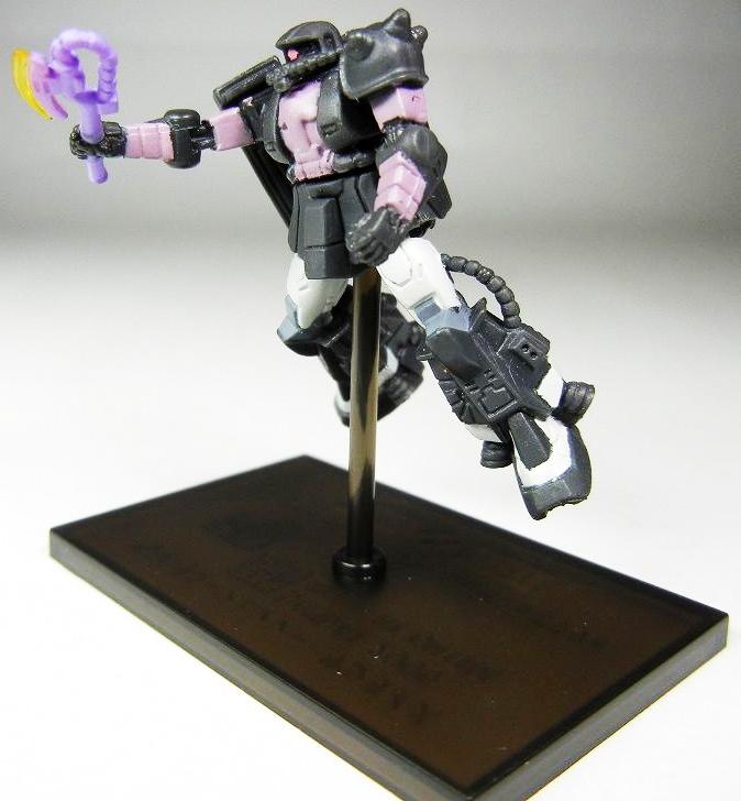 Gundam Collection NEO.4 MS-06R-1A Black Tri-stars Use Customize ZAKU Ⅱ 06  1//400