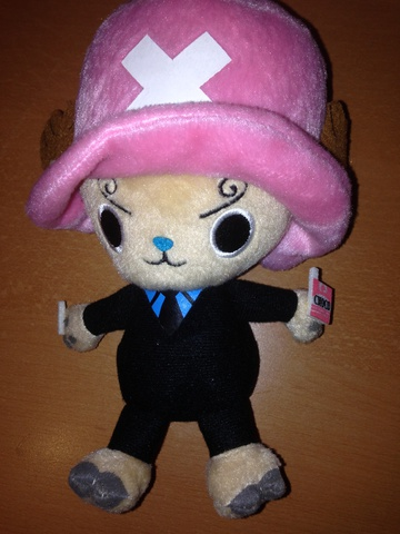 main photo of One Piece Chopper as Sanji Plush