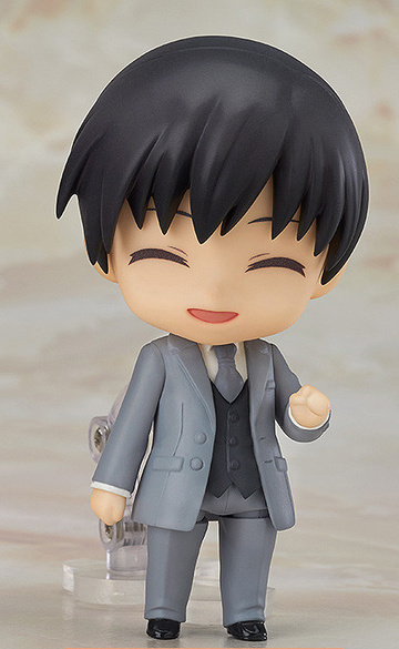 main photo of Nendoroid More: Dress-Up Wedding: Tuxedo type Stylish Gray