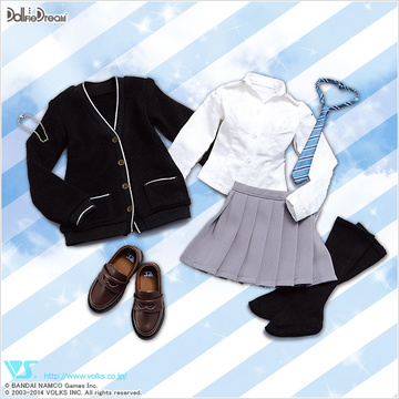 main photo of Dollfie Dream School Uniform Set for Rin Shibuya
