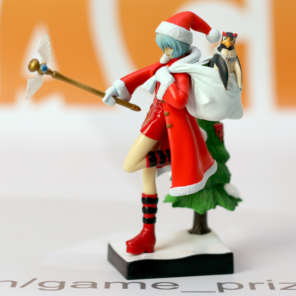Ayanami Rei, PenPen Christmas Ver. - My Anime Shelf