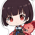 Kabaneri of the Iron Fortress Petitkko Trading Acrylic Strap: Mumei