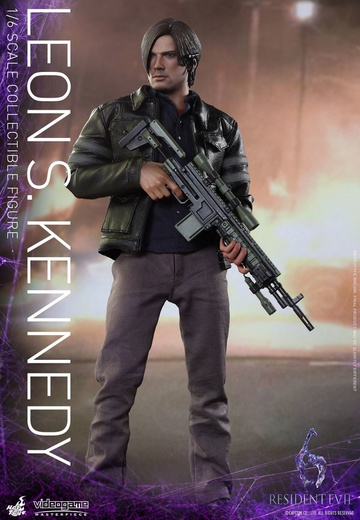 main photo of Video Game Masterpiece Leon S. Kennedy