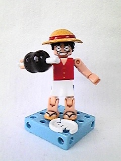 main photo of One Piece DeQue Figure Series 2: Luffy