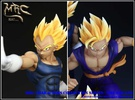 photo of Characters Collection Series The Saiyans Resin Statue