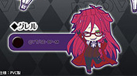 main photo of Kuroshitsuji Book of Circus Hugpita Bag Charm: Grell Sutcliff