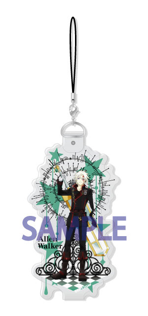 main photo of D.Gray-man HALLOW CharaVini Strap: Allen Walker