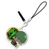 photo of One Punch Man Bocchi-kun Acrylic Charm: Mumen Rider