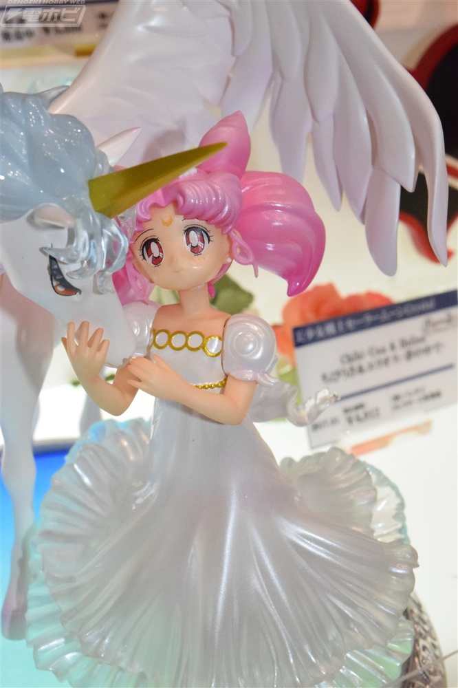 Sailor Moon Zero Tsukino Usagi Small Lady Serenity Wing Horse Figurine Statue