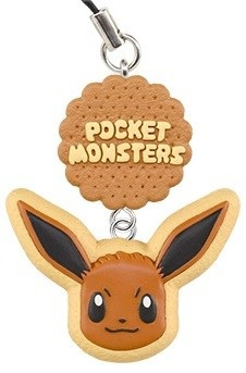 main photo of Pokémon Icing Cookie Strap: Eievui