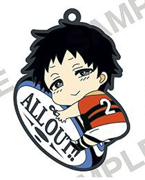 main photo of ALL OUT!! PitaColle Rubber Strap: Hachiouji Mutsumi