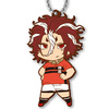 photo of ALL OUT!! New Deformed Illustration Rubber Mascot by Shiori Amase: Sekizan Takuya A