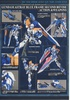 photo of MG MBF-P03secondL Gundam Astray Blue Frame Second L