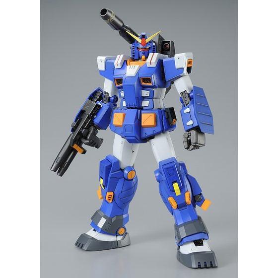 Mg Fa 78 1 Gundam Full Armor Type Blue Color Ver My Anime Shelf