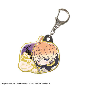 main photo of DIABOLIK LOVERS MORE, BLOOD Pukutto Keychain Halloween Ver.: Shu Sakamaki