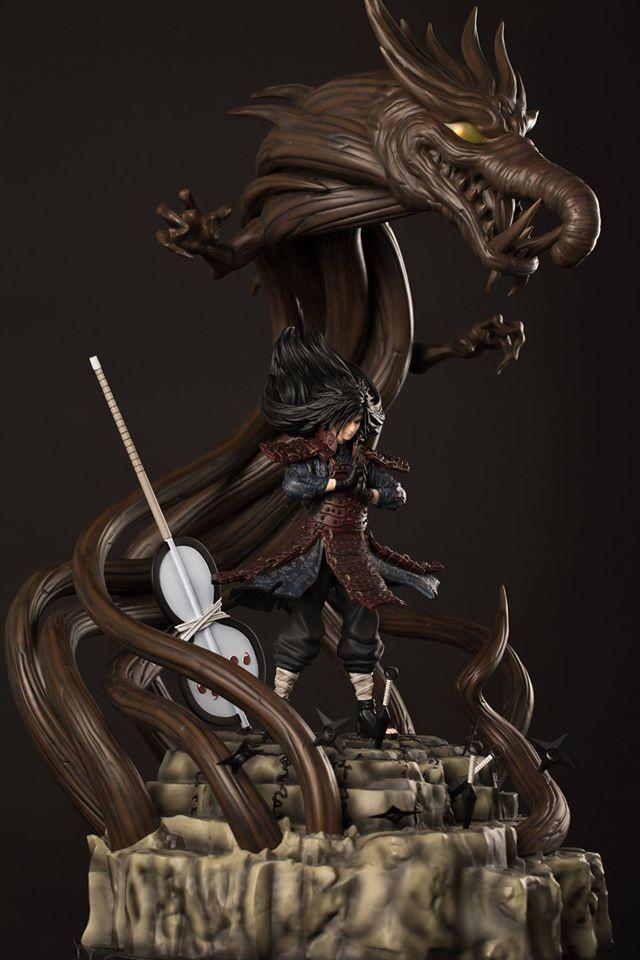 edo tensei madara wood dragon jutsu my anime shelf