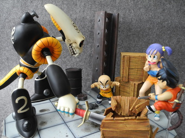 main photo of GOKU KULILIN BULMA VS PIRATE ROBOT