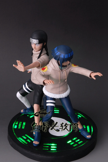 main photo of Hinata and Neji Hyuuga
