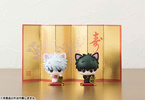 photo of Petit Chara! Series Gintama° Sakata Gintoki & Hijikata Toushirou Maneki Makuri Neko Set