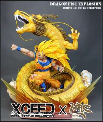 main photo of Son Goku SSJ3 and ShenLong