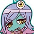 Space Patrol Luluco Trading Rubber Straps: Midori