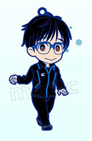 main photo of Yuri!!! on ICE Rubber Strap Collection: Katsuki Yuri